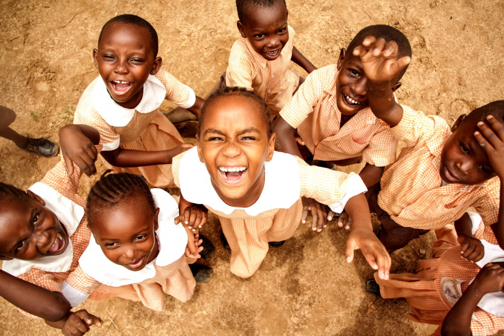 Fotoreportage: Kids at Footprints Orphanage Kenya