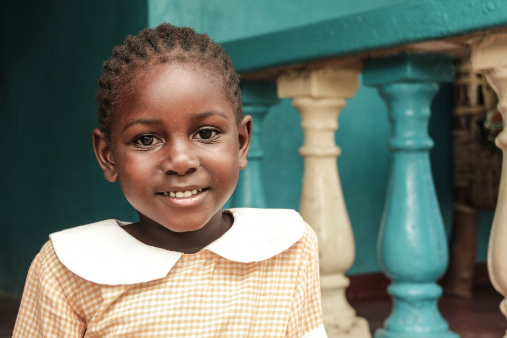 Fotoreportage: Girl at Footprints Orphanage Kenya
