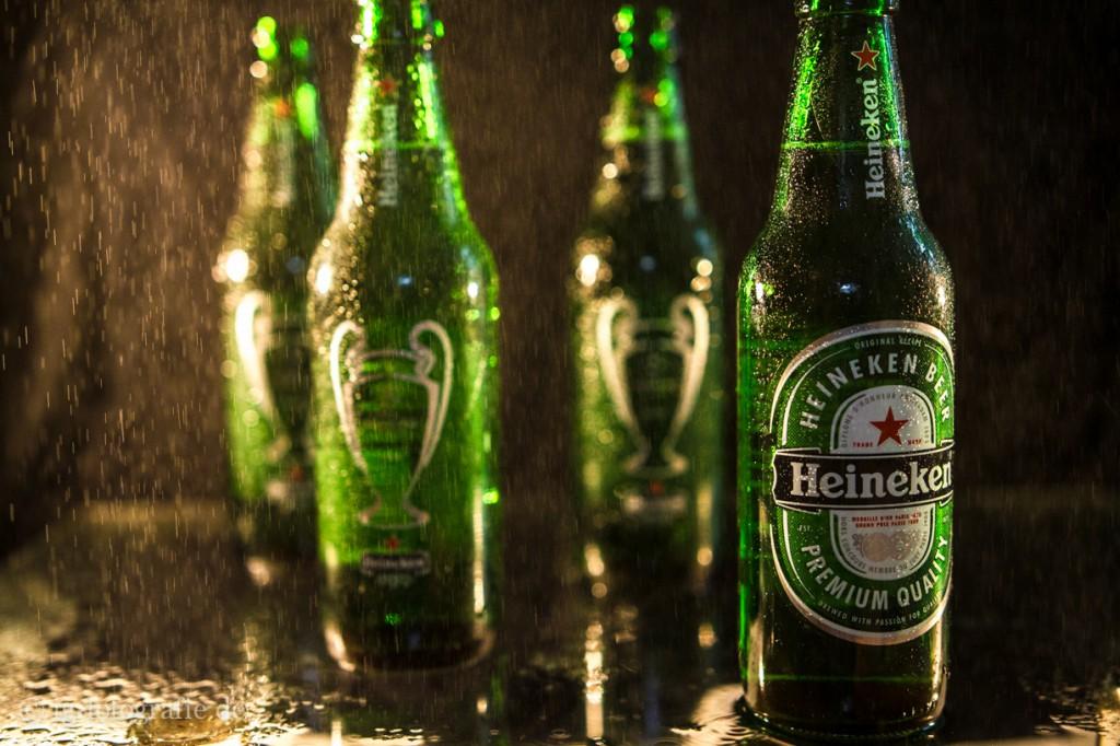 Fotografieren lernen - Produktfotografie: Heineken Packshot Bier