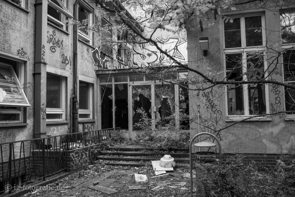 Lost Places - Institut Anatomie FU Berlin