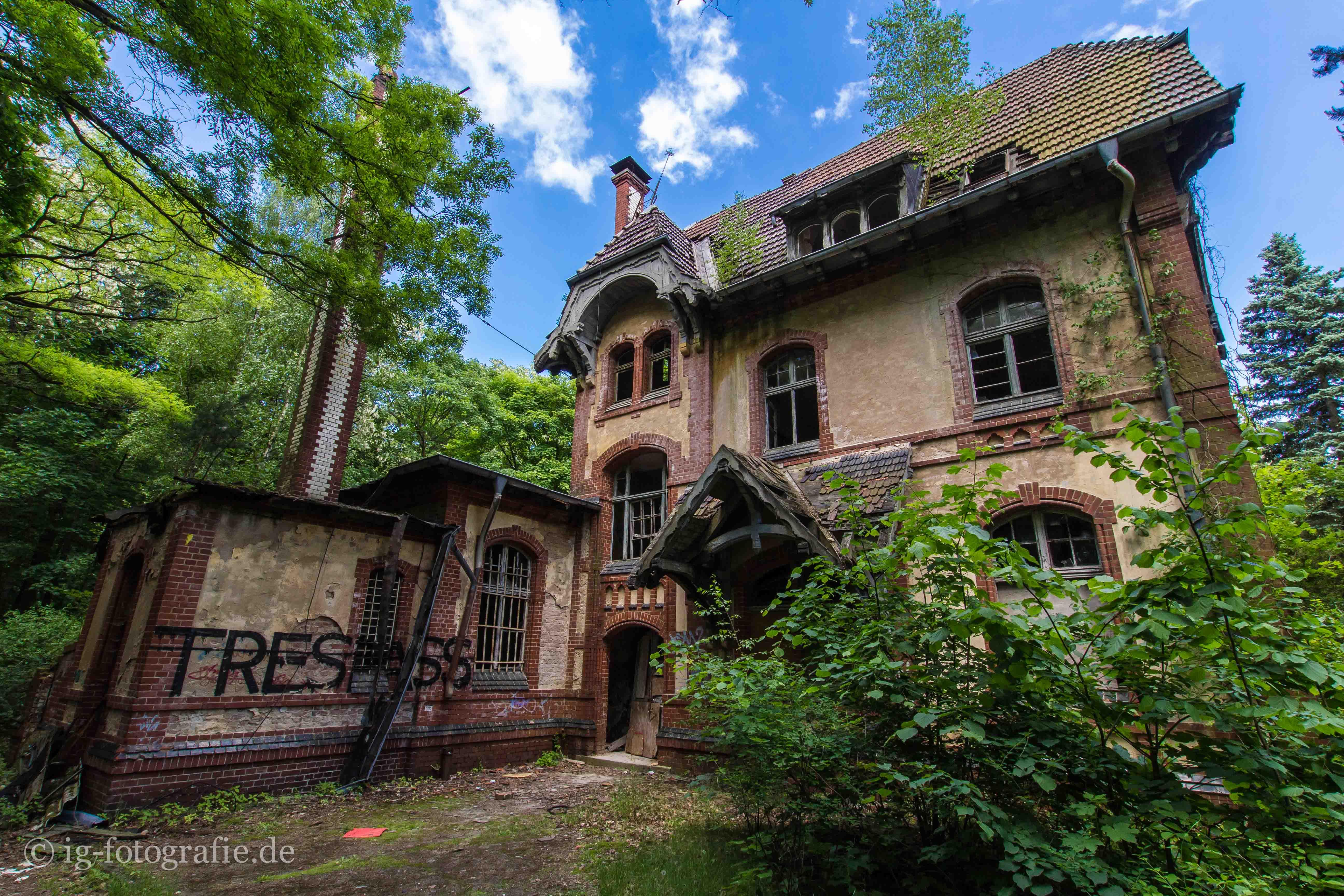 Urbex Beelitz Heilstätten Fototour