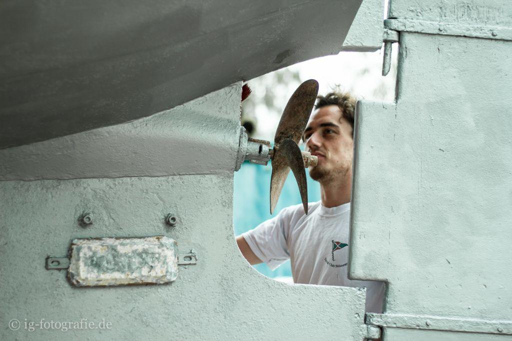 Melres Boot Schiffsschraube
