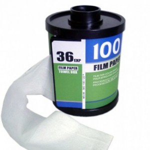 Kamera Film Toilettenpapier-Halter