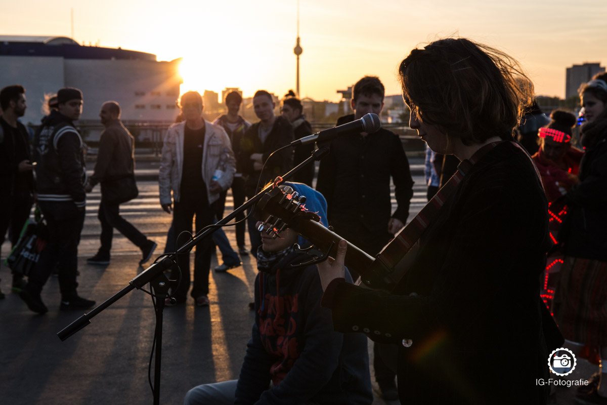 Warschauer-Bruecke-Sonnenuntergang